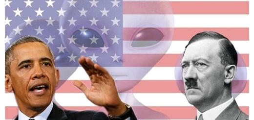 اطلاعات اسنودن در مورد اثبات رابطه آمریکا و هیتلر با آدم فضایی ها روسیه را گیج کرده است.
