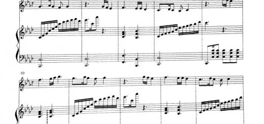 نت غم و شادی کیوان ساکت پیانو و تار
