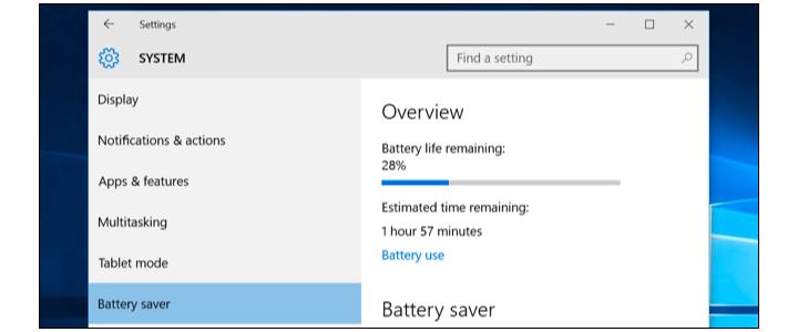 چگونه برنامهای که بیشترین شارژ باتری را در ویندوز 10 مصرف میکند پیدا کنید؟