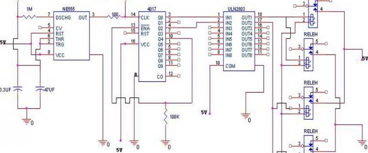 پروژه کنترل چپ گرد راست گرد موتورdc توسط تایمر