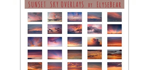 دانلود 50 تصویر با کیفیت آسمان ابری و غروب آفتاب