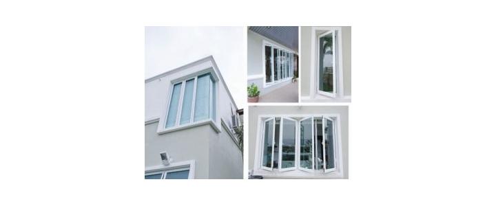 در و پنجره دو سه جداره قوس دار