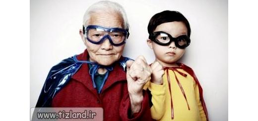 مهدکودکی درون خانه سالمندان