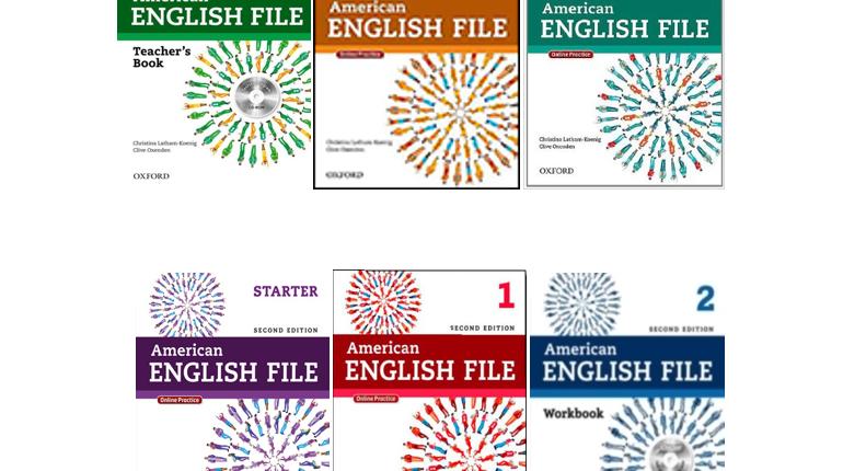 دانلود ویرایش دوم کتاب های American English File 2nd