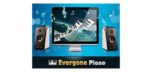 نرم افزار شبیه ساز پیانو - Everyone Piano 1.9.5.11