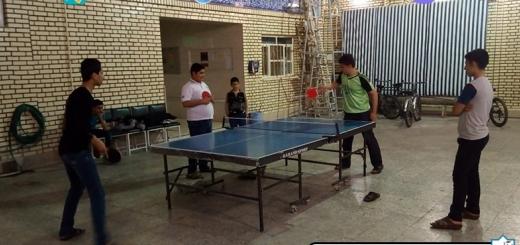 مسابقه پینگ پنگ - نوجوانان - چهارشنبه 25 بهمن 96