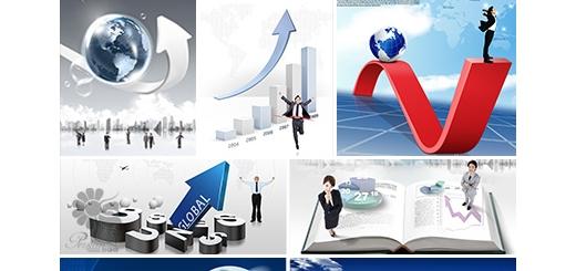 دانلود مجموعه تصاویر لایه باز تجارت - بخش اول دی وی دی 3