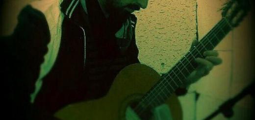 میلاد آسمانی مدرس گیتار و آواز پاپ