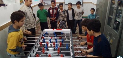 مسابقه فوتبال دستی - کودکان - چهارشنبه 25 بهمن 96