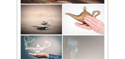 دانلود تصاویر با کیفیت چراغ جادو، علاءالدین