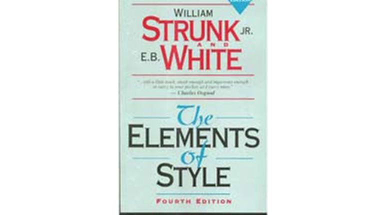 دانلود کتاب راهنمای رایتینگ زبان انگلیسی The Elements of Style