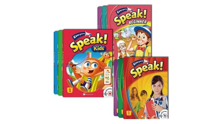 مجموعه آموزش زبان انگلیسی Everyone, Speak! Kids