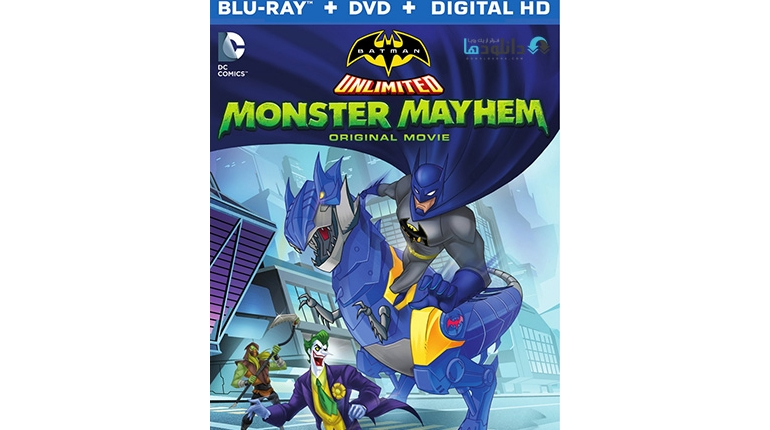 دانلود انیمیشن Batman Unlimited Monster Mayhem 2015