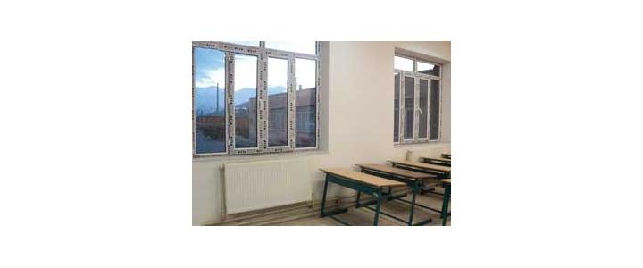 شرکت در پنجره دو سه جداره مدارس