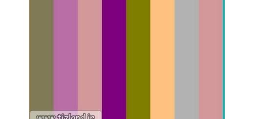 آیا نوارهایی با رنگ یکسان می بینید