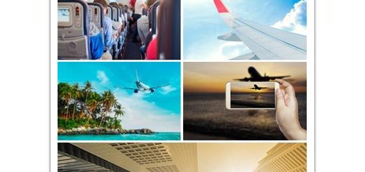 دانلود تصاویر با کیفیت هواپیمای مسافربری