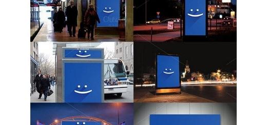 دانلود تصاویر لایه باز قالب پیش نمایش یا موکاپ بنر فضاهای بیرونی