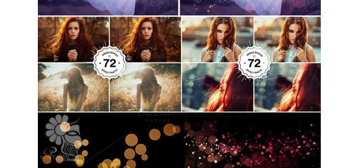 دانلود 72 افکت بوکه فتوشاپ برای عکاسی