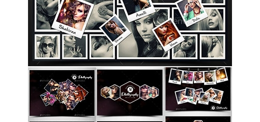 دانلود 10 قالب لایه باز فریم های متنوع تصاویر