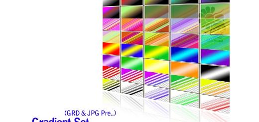 مجموعه گرادینت های زیبا - Gradient Set