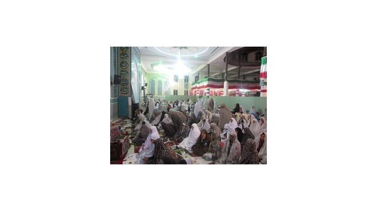 برگزاری مراسم اعتکاف ویژه خواهران در مسجد امام خمینی(ره) شهرستان خمین