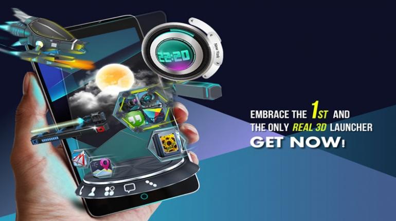 دانلود Next Launcher 3D Shell 3.7.2 – لانچر سه بعدی نکس اندروید