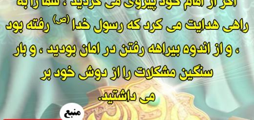ره آورد پیروی از امام / مجموعه نهج البلاغه و بصیرت / شماره 89