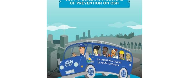 پوستر ایمنی و بهداشت کار 2015