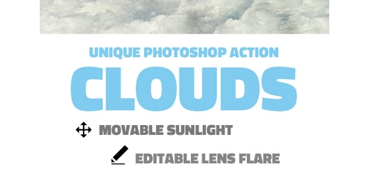 دانلود اکشن فتوشاپ ایجاد افکت ابر بر روی تصاویر
