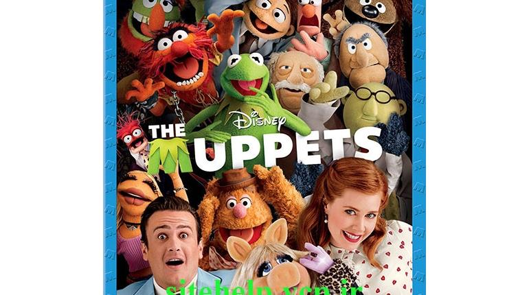 دانلود فیلم کمدی ماپت ها با دوبله فارسی گلوری The Muppets 2011