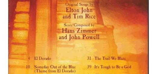 نت موسیقی انیمیشن The Road To El Dorado برای گیتار و پیانو