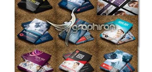 دانلود رایگان مجموعه ۱۶ کارت ویزیت PSD لایه باز
