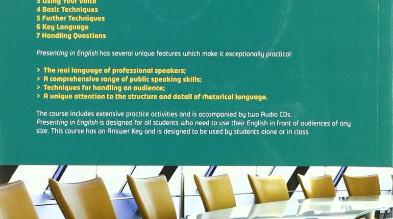 آموزش نحوه ی کنفرانس دادن به انگلیسی Presenting in English