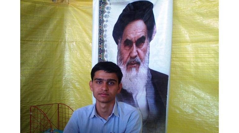پخش کلیپ یا موضوع محرم در مسجد امام خمینی (ره)