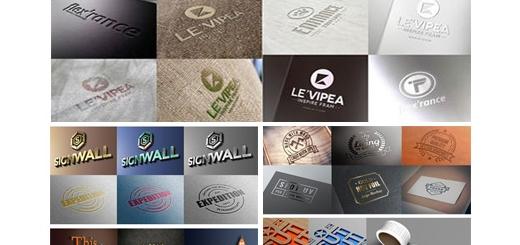 دانلود بیش از 55 موکاپ لایه باز آرم و لوگوی چاپ یا هک شده