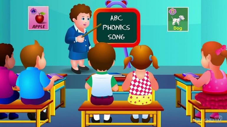 دانلود نرم افزار اندروید آموزش زبان انگلیسی برای کودکان Kids ABC Letter Phonics v1.8.5