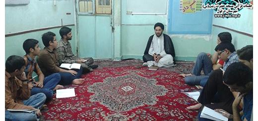 اجرای بحث توسط حاج آقا احمدی 7 مرداد 94