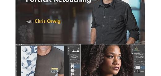 دانلود آموزش روتوش عکس چهره در فتوشاپ