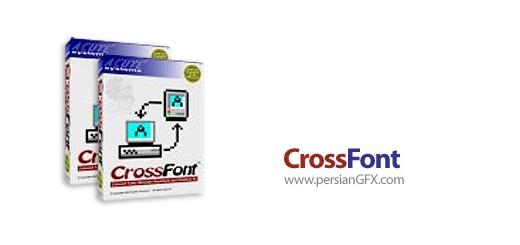 دانلود نرم افزار تبدیل فونت های ویندوز و مکینتاش - CrossFont 6.2