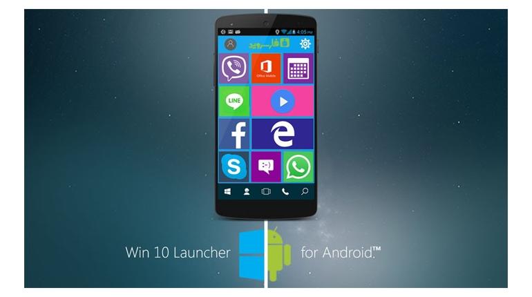 دانلود Win 10 Launcher : Pro 2.2 – لانچر ویندوز 10 برای اندروید