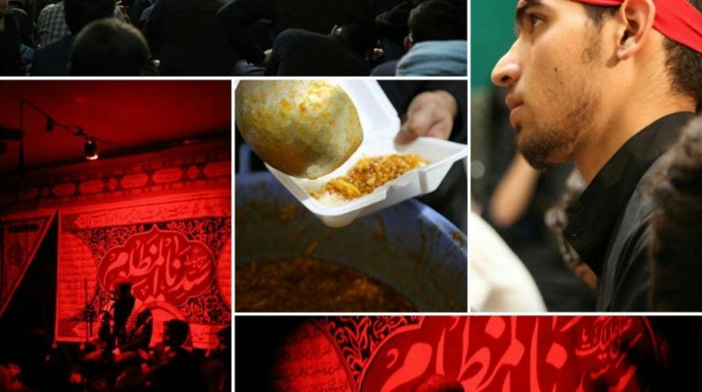 گزارش تصویری دومین  شب از مراسم دهه دوم محرم