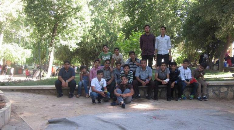 گزارش تصویری برگزاری اردوی محلات درروز دوشنبه مورخ95/5/18