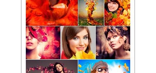 دانلود تصاویر با کیفیت دختران پاییزی