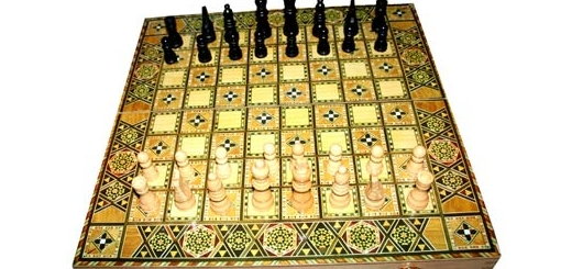 هرگاه نگاهتان به شطرنج افتاد یزید را لعنت کنید
