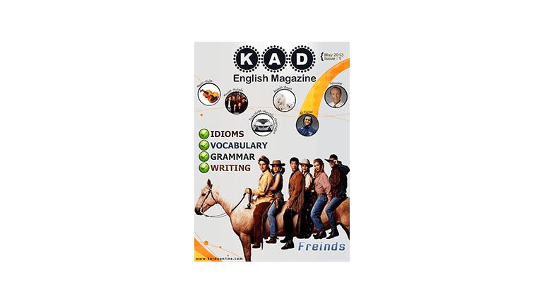 مجله آموزش انگلیسی Kad English Magazine Issue1