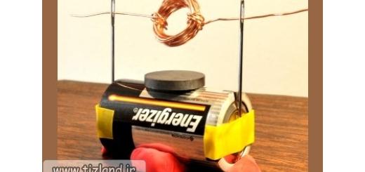 خت یک موتور الکتریکی