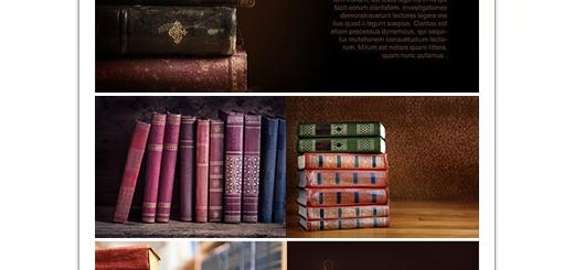 دانلود تصاویر با کیفیت پس زمینه کتاب های قدیمی