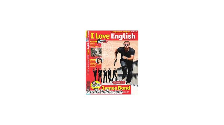 دانلود مجله آموزش انگلیسی I Love English March 2013