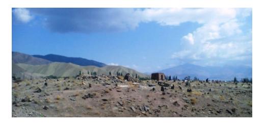 قبرستان تاریخی روستای چهرگان