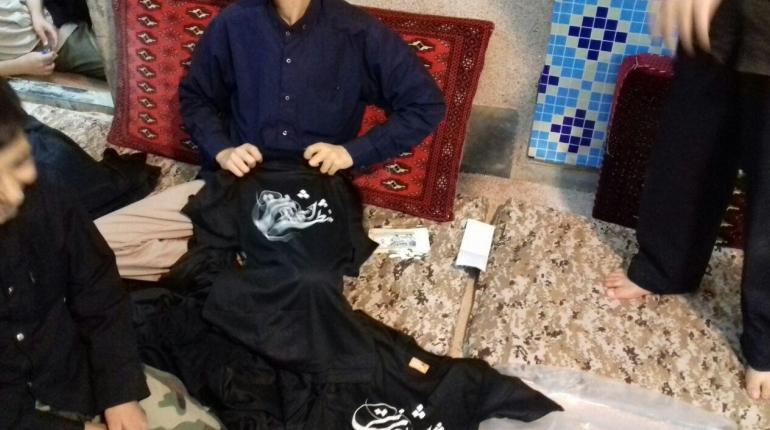 فروش تی شرت هیئت قرارگاه منتظران شهادت